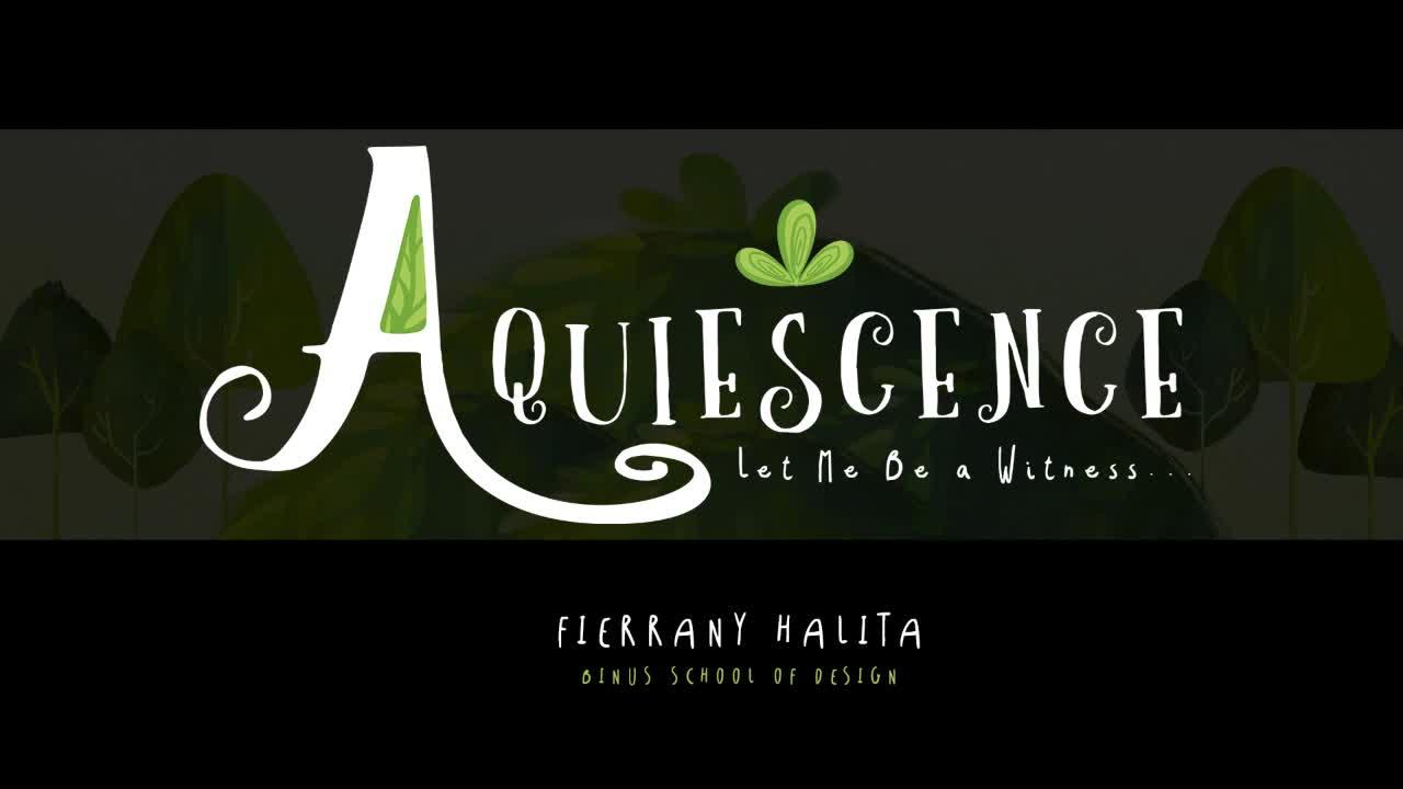 AQUIESCENCE