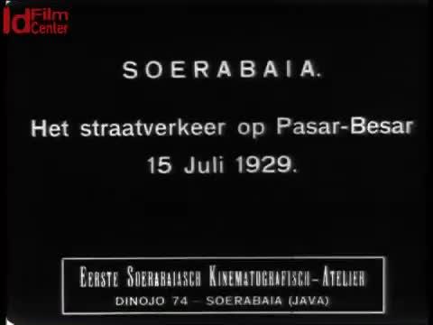 Surabaya-lalu-lintas-jalan-di-kawasan-Pasar-Besar-15-Juli-1929