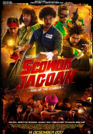 5 Cowok Jagoan: Rise of the Zombies
