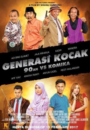 Generasi Kocak: 90-an vs Komika